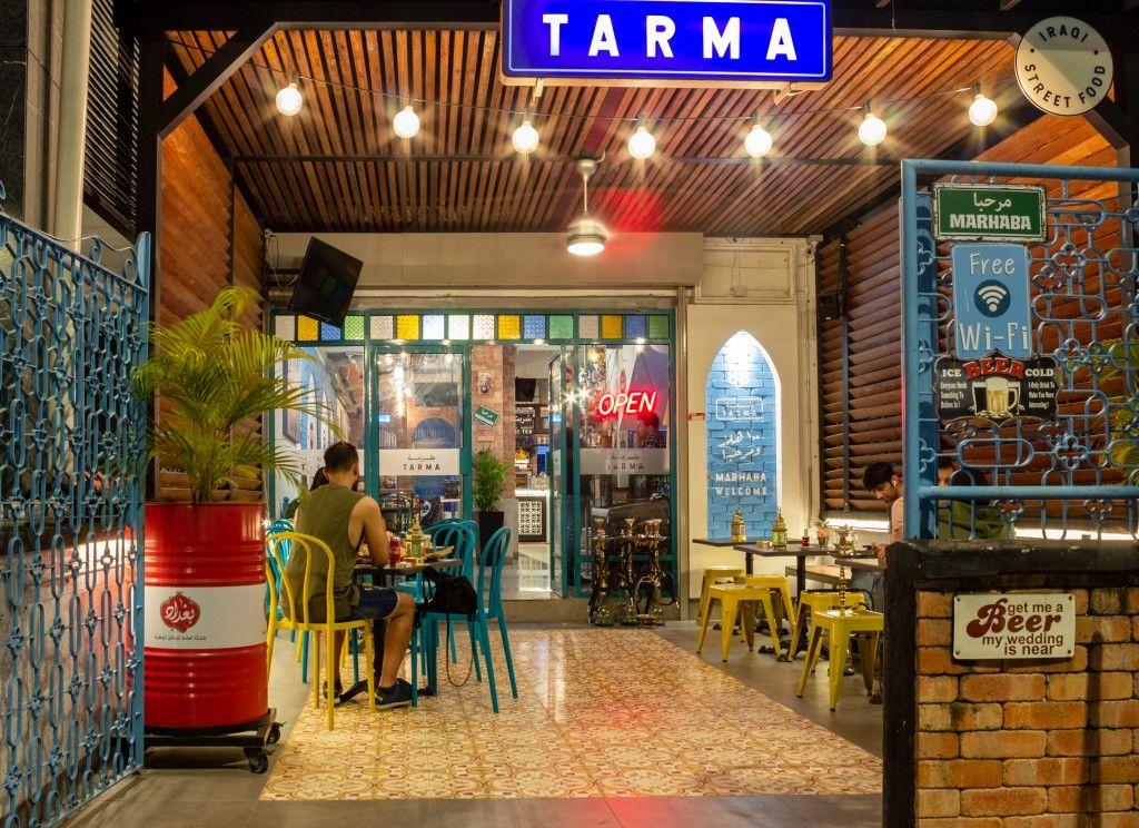 Tarma Iraqi Street Food Restaurant Cafe Design Street Street Food