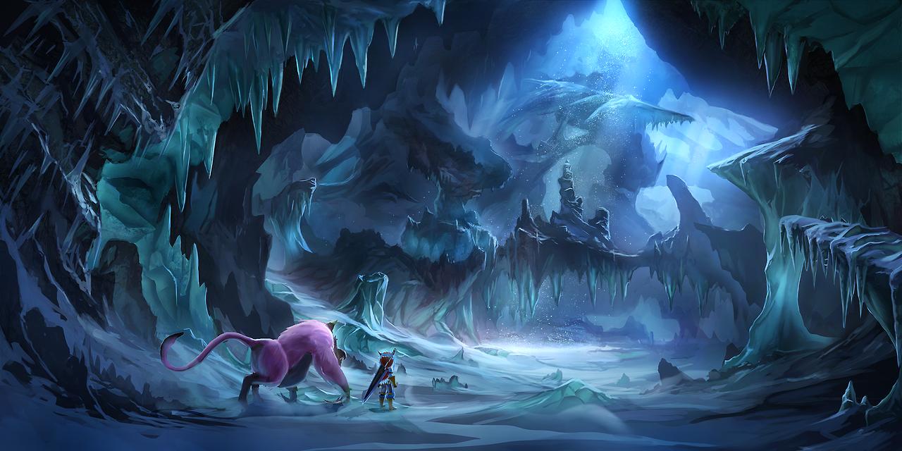 Cavern Infection Fantasy Concept Art