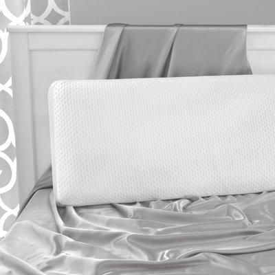 White Noise Santaana Medium Memory Foam Cooling Bed Pillow Size