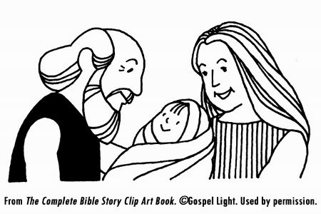 Abraham, Sarah, Isaac coloring page | Pre-school Projects ...