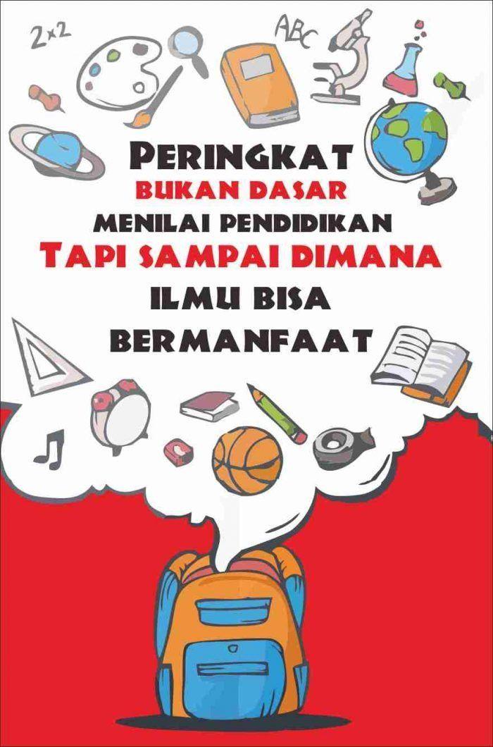 Contoh Poster Di Buku Gambar