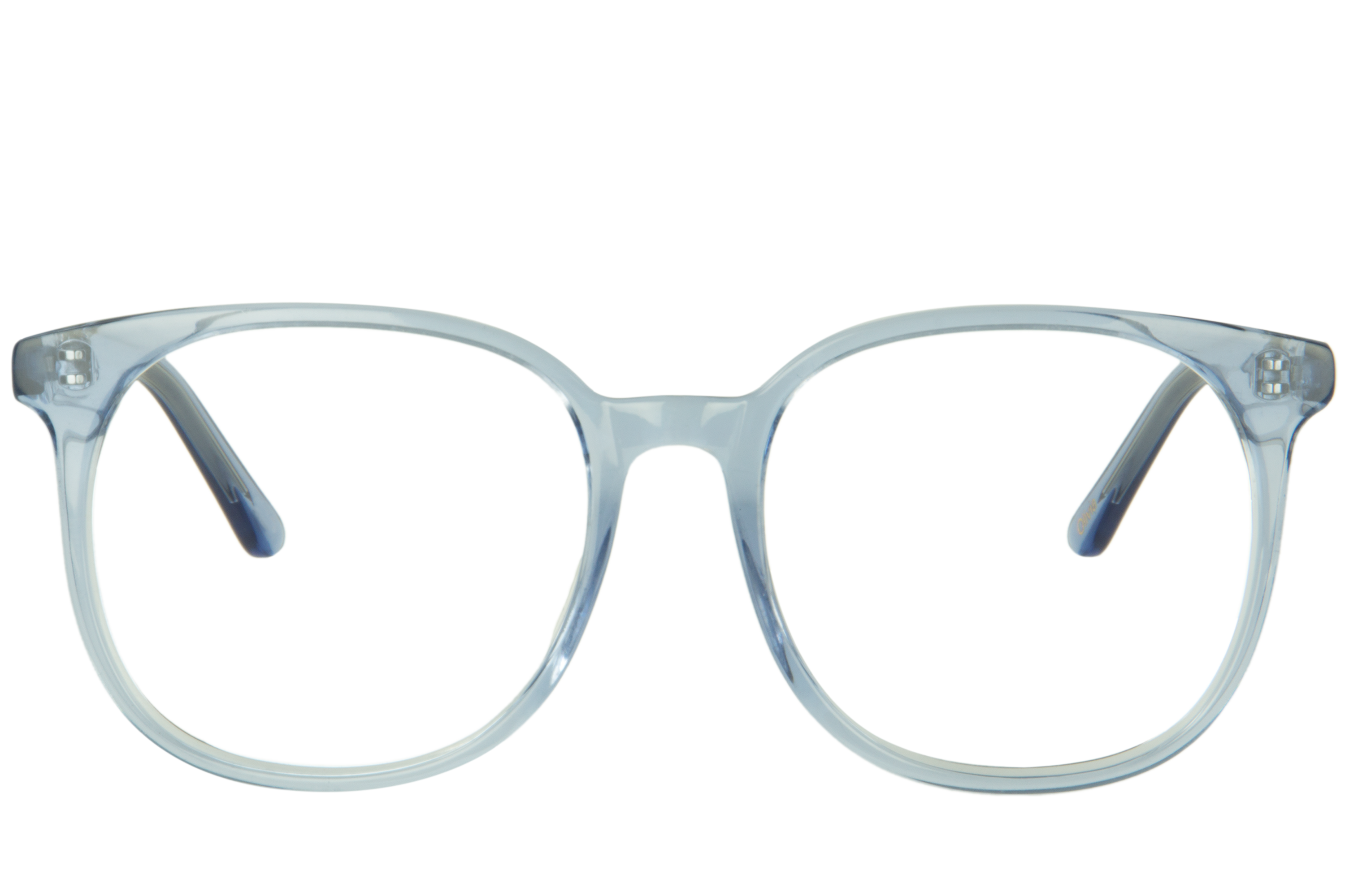 Olivia Blue is a Rectangular pair of glasses made from Blue Acetate 6b6d85839e65