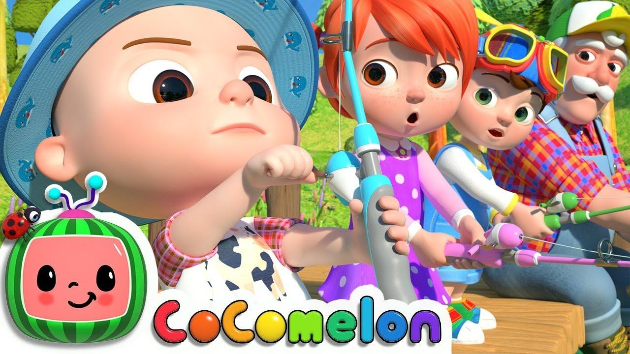 1, 2, 3, 4, 5, Once I Caught a Fish Alive! | CoComelon ...