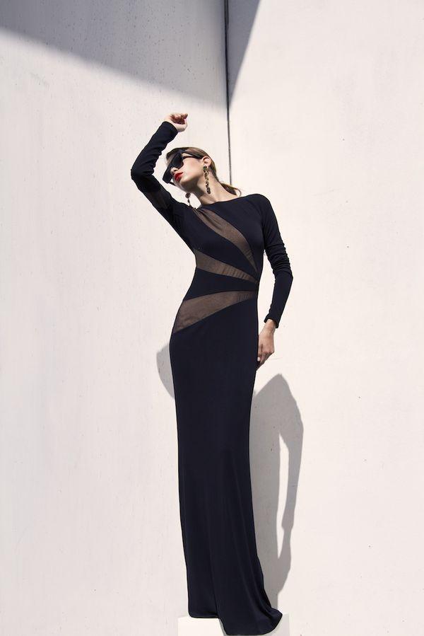 Emilio Pucci long gown .