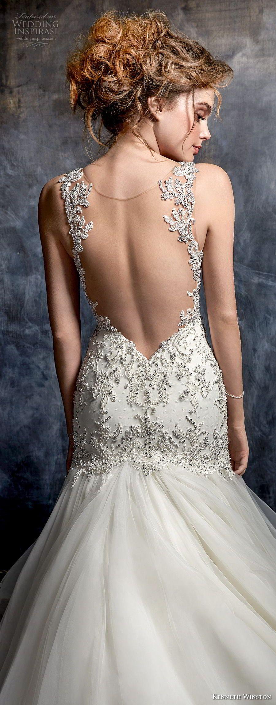 Karla   Wedding gowns lace, Kenneth winston wedding