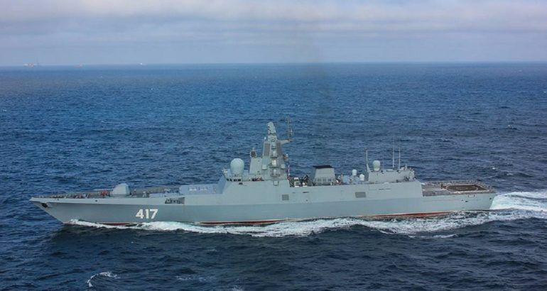 Three Project 22350 Frigates To Join Russia S Pacific Fleet In 2020 South China Sea Naval Philippine Navy