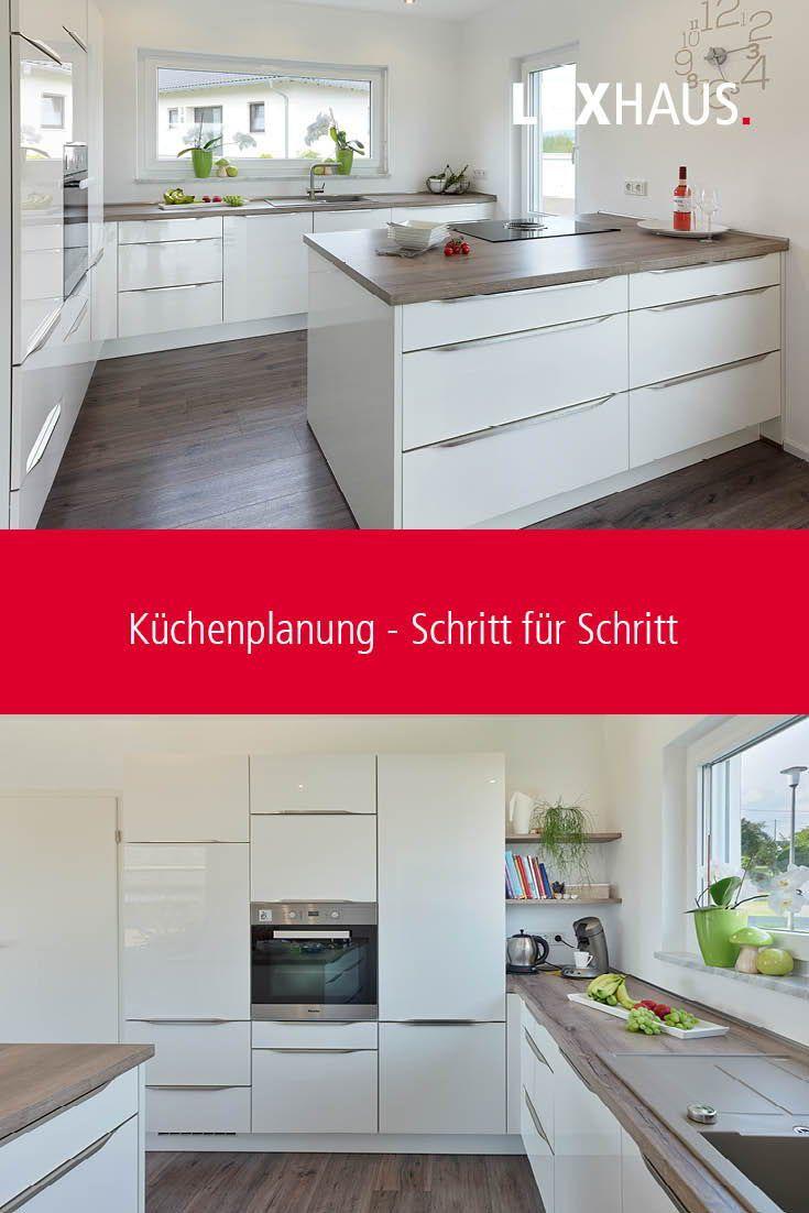Moderne Küche planen und bauen mit Warendorf