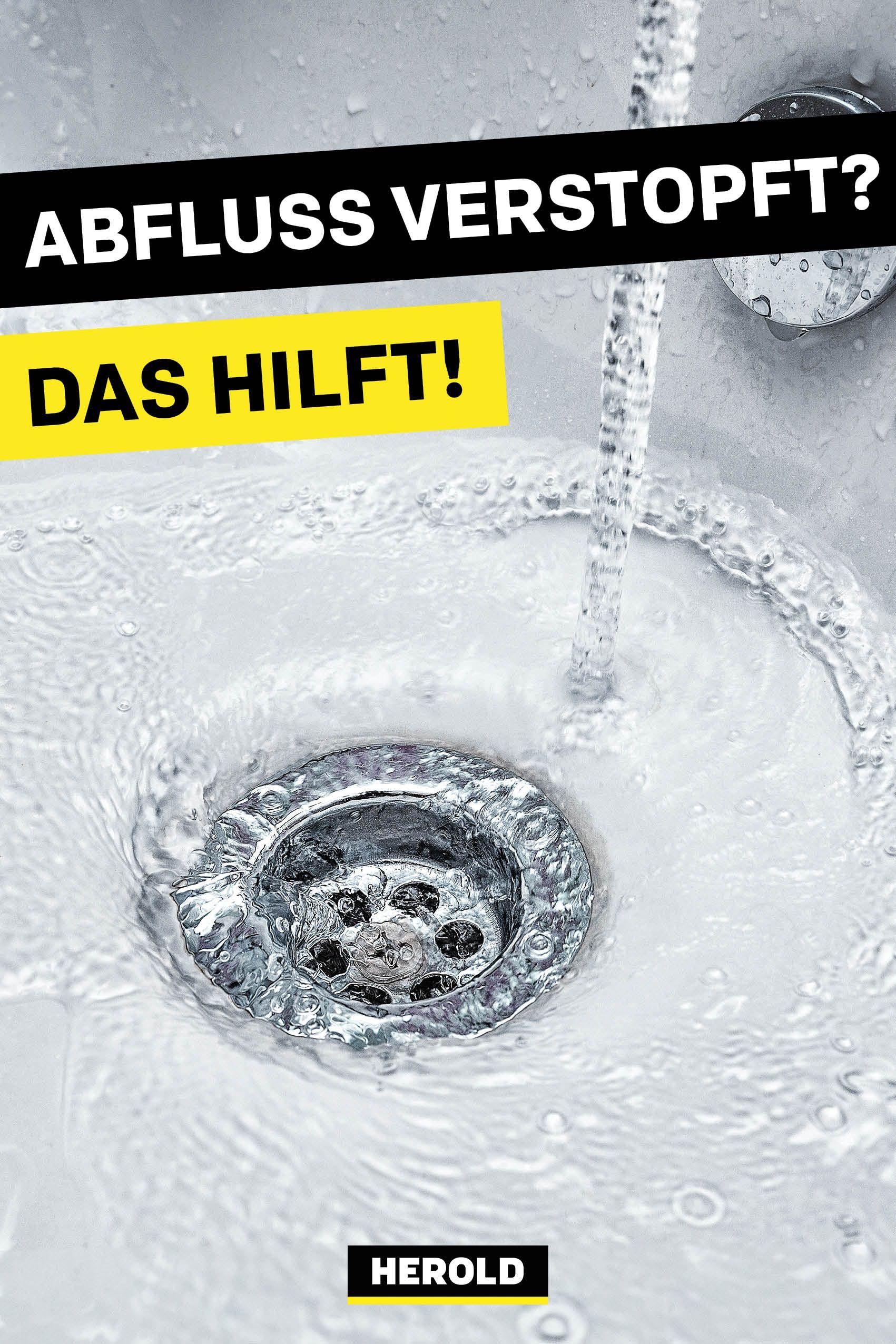 Abfluss Verstopft Diese Hausmittel Helfen Sofort Abfluss