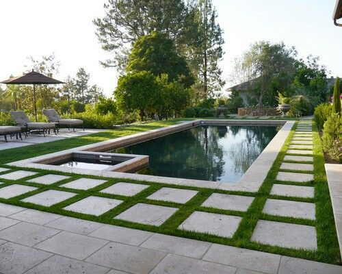 Pin By Parkwood Pools On Pool Gallery In 2019 Backyard