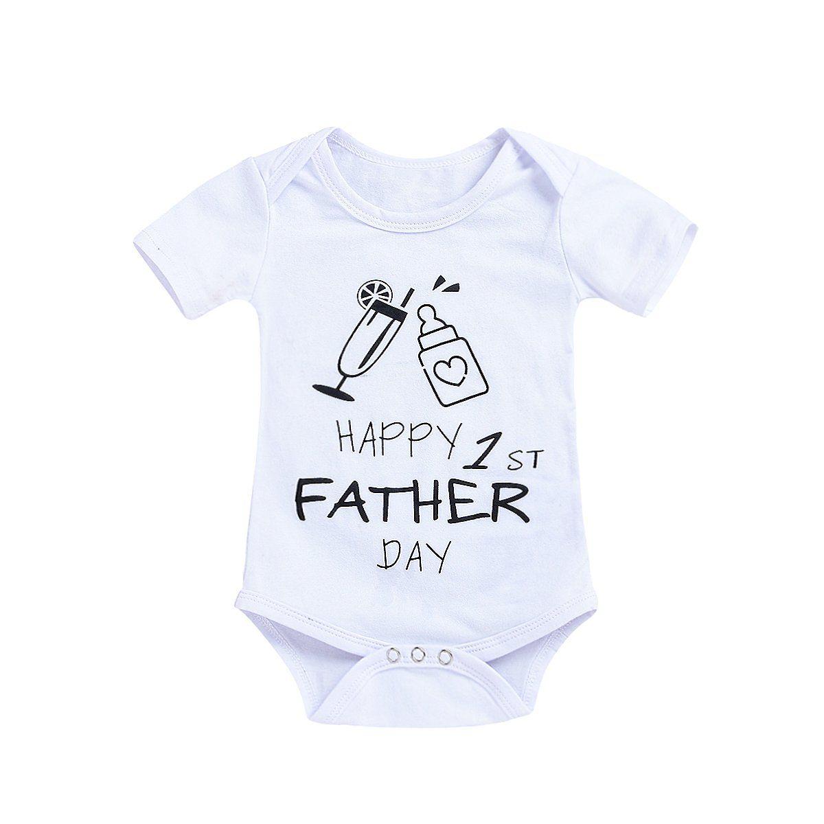 ViWorld Unisex Baby Boys Newborn Girls Happy First Fathers Day