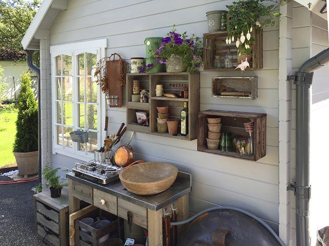 Gartenküche selber bauen: Anleitung und Tipps #gartenupcycling