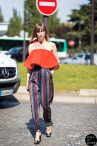 STYLE DU MONDE / Paris FW SS15 Street Style: Anya Ziourova  // #Fashion, #FashionBlog, #FashionBlogger, #Ootd, #OutfitOfTheDay, #StreetStyle, #Style