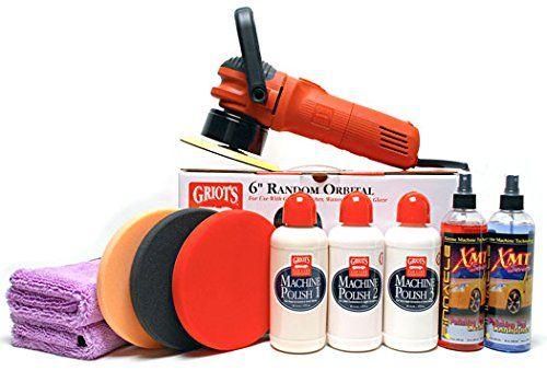 Griots Garage Ultimate Pad & Polish Kit - http://www.productsforautomotive.com/griots-garage-ultimate-pad-polish-kit/