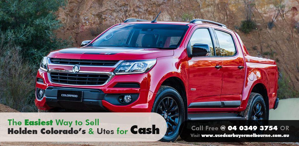 Sell Your Holden Colorado 4x4 Cash for Holden Colorado