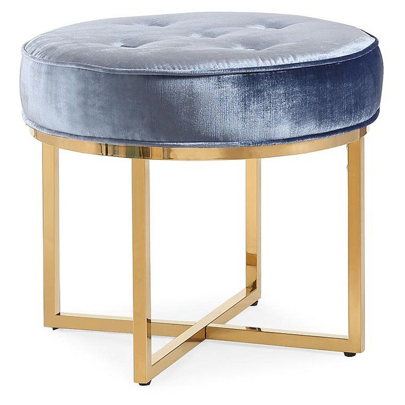 TOV Furniture Layla Tufted Round Ottoman - TOV-OC3716 | Products ...