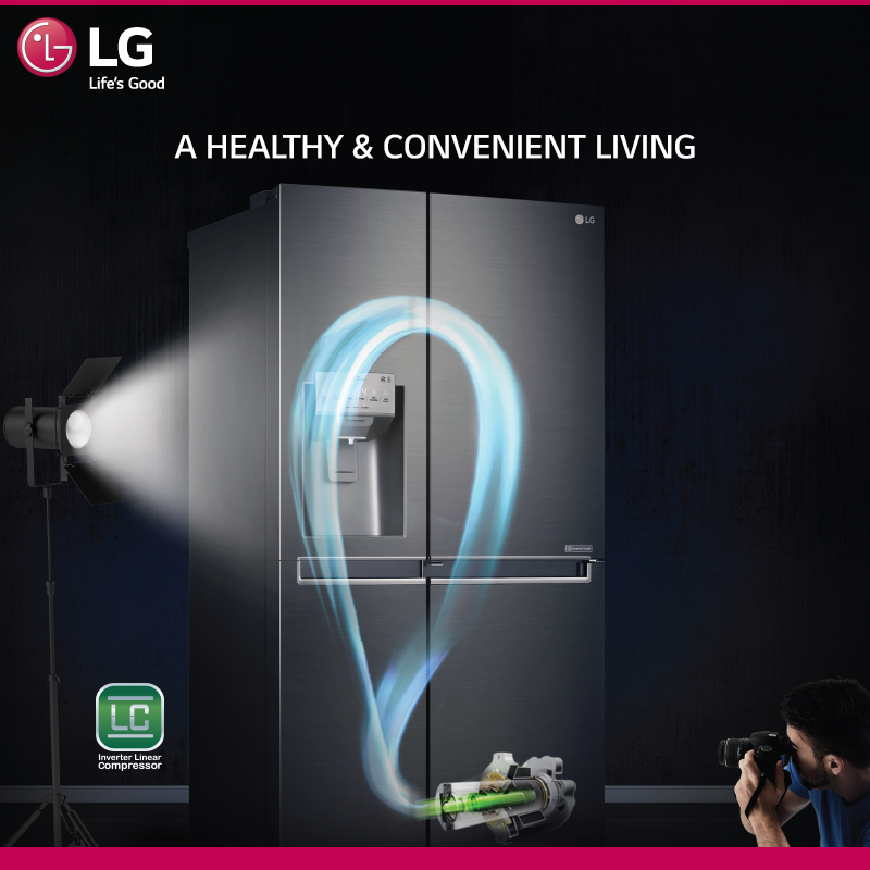 The Heart Of Lg Side By Side Refrigerators Apart From High