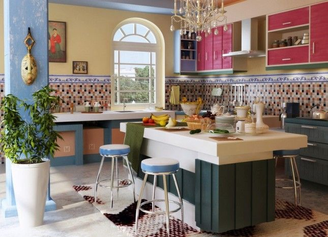 Mediterranean Home Decor Style Yellow Tones  Home Decor