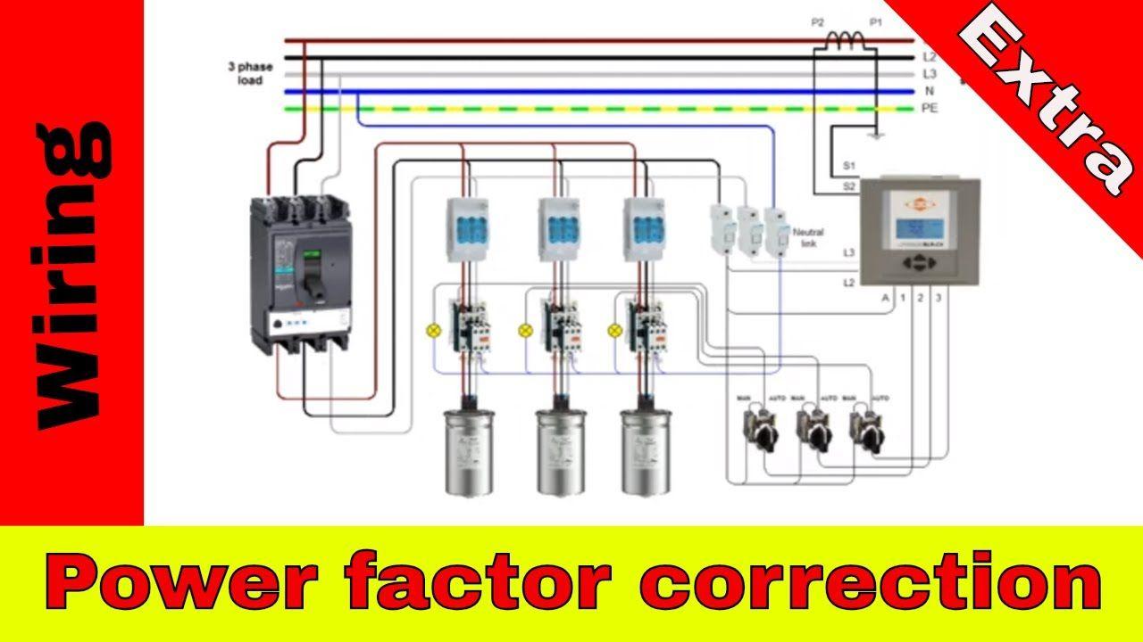 Apfc  Power Factor Correction Panel Diagram Wiring  In