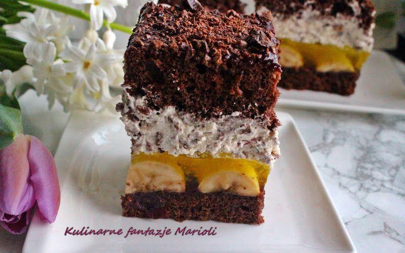 Kulinarne Fantazje Marioli Ciasta Z Kremem Smietana I Galaretka In 2021 Cake Filling Recipes Filling Recipes Cheesecake