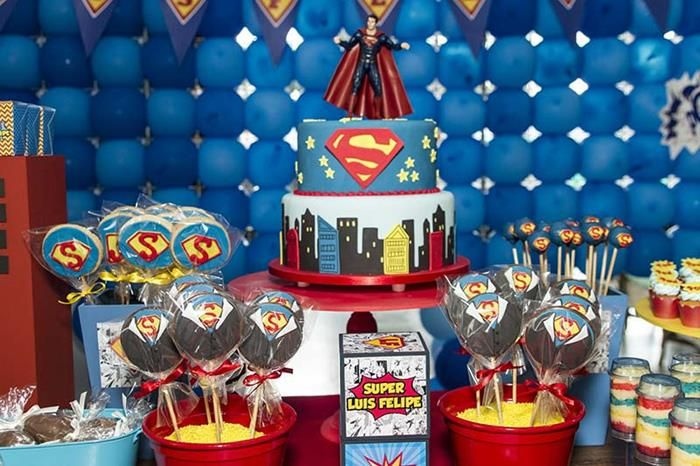 superman party ideas Ideas via Karas Party Ideas Kara