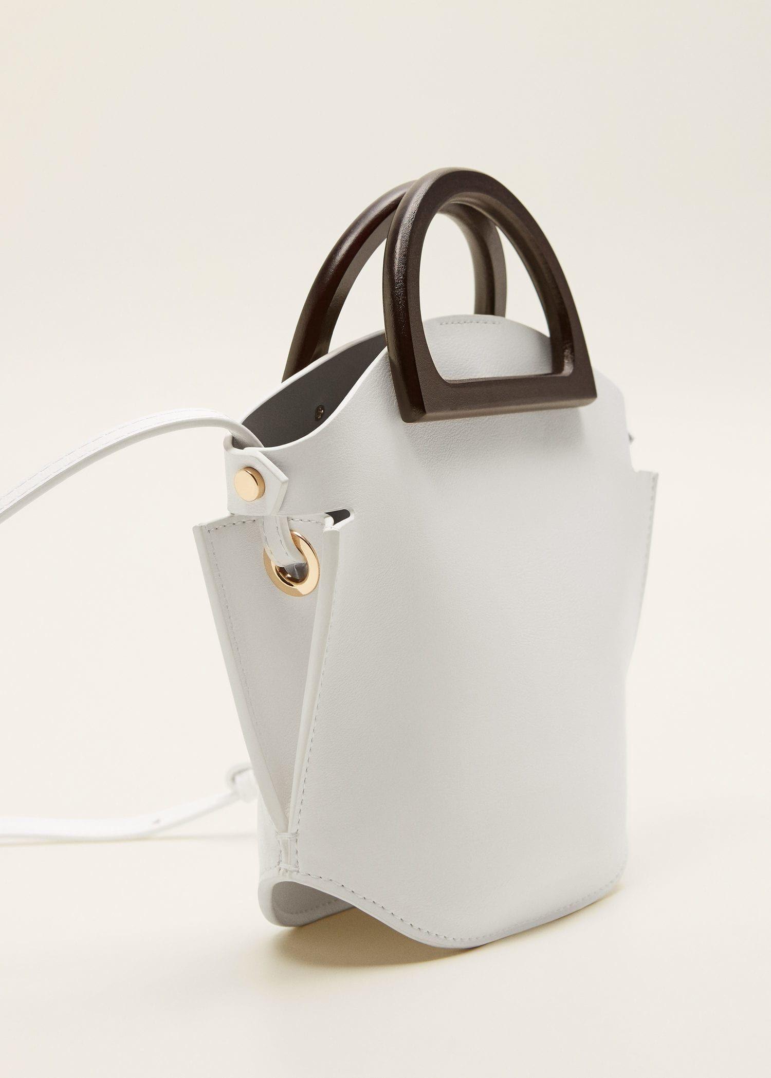 Mini bolso asa madera – Bolsos de Mujer