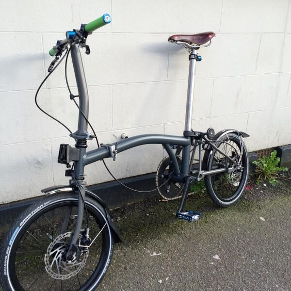 Disc Brakes Urban Bicycle Brompton Urban Bike