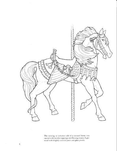 Carousel Animals coloring book - bobogirl Vah - Picasa Albums Web