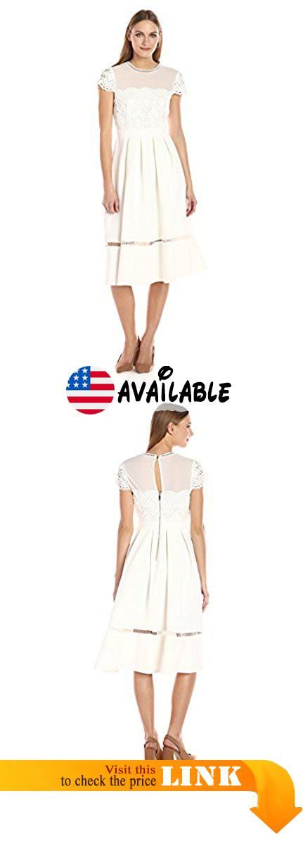 35f397d4ba37 Ted Baker Women s Frizay Lace Bodice Full Midi Dress