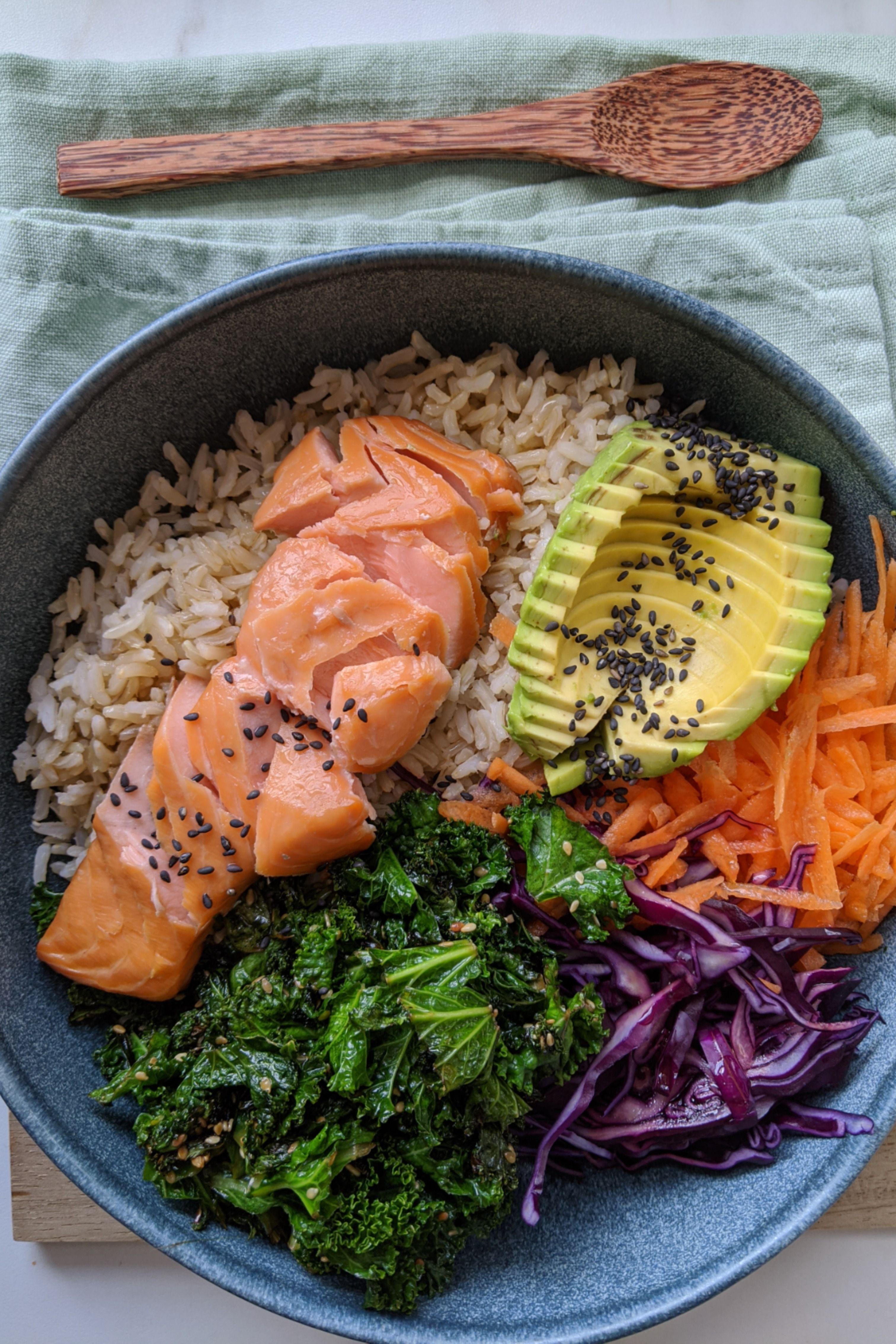 Rainbow Rice Buddha Bowl