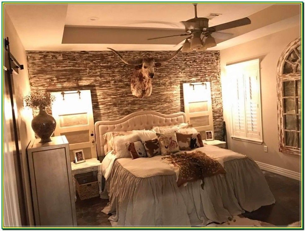 Getting Into Home Improvements Is A Smart Idea That Can Provide You With Many Benefits However Many Ho In 2020 Western Bedrooms Western Bedroom Decor Western Bedroom