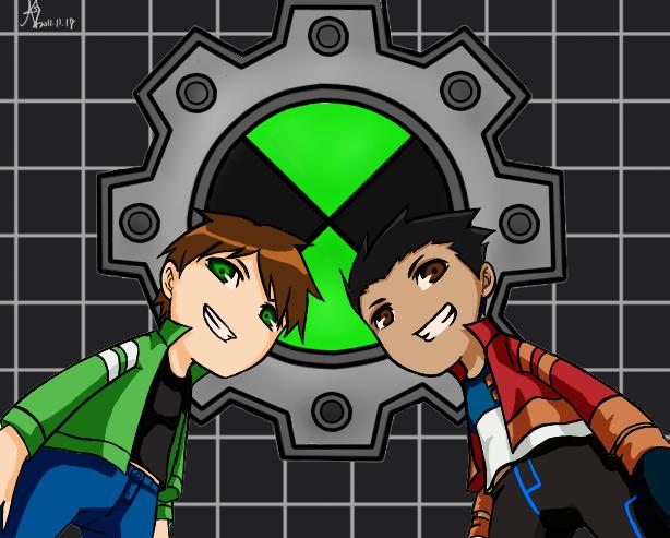 Ben 10 And Generator Rex By Dna2023 On Deviantart Generator Rex Heroes United Rex
