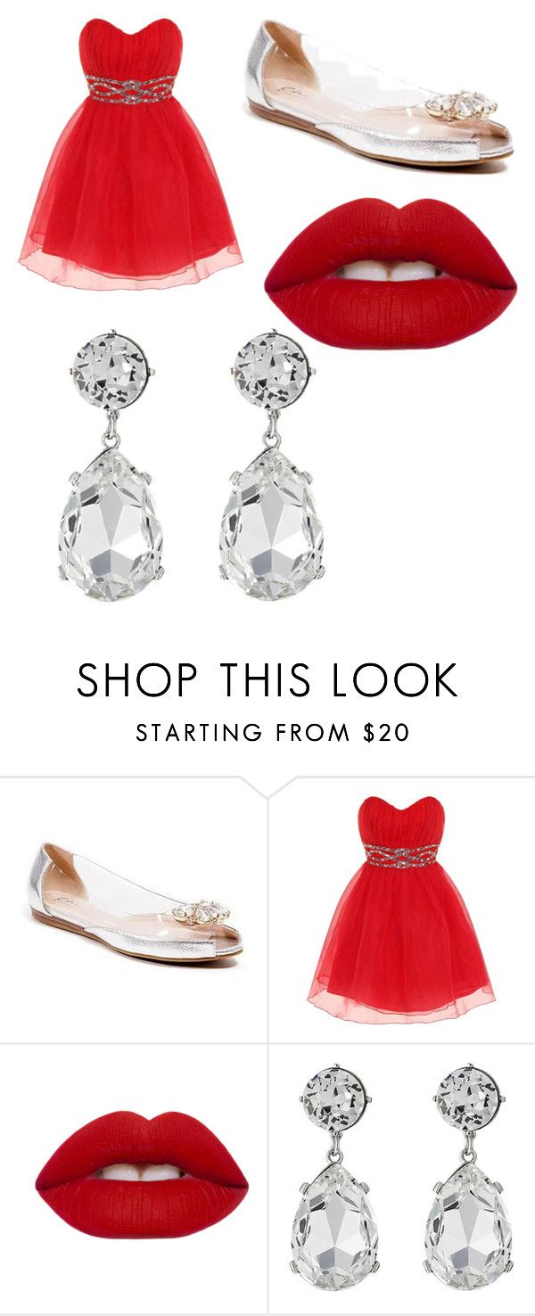 """Prom 10"" by craycray08 ❤ liked on Polyvore featuring Dorothy Perkins, Lime Crime and Kenneth Jay Lane"
