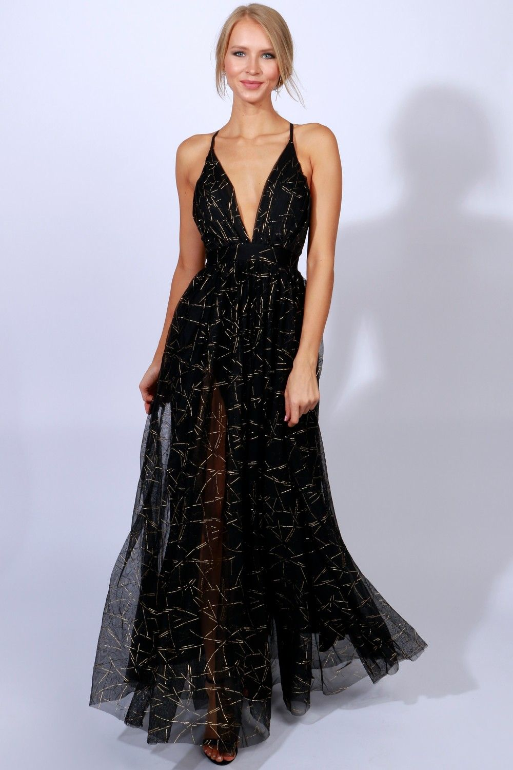 Gown to party detailed maxi blackgold black gold gowns and
