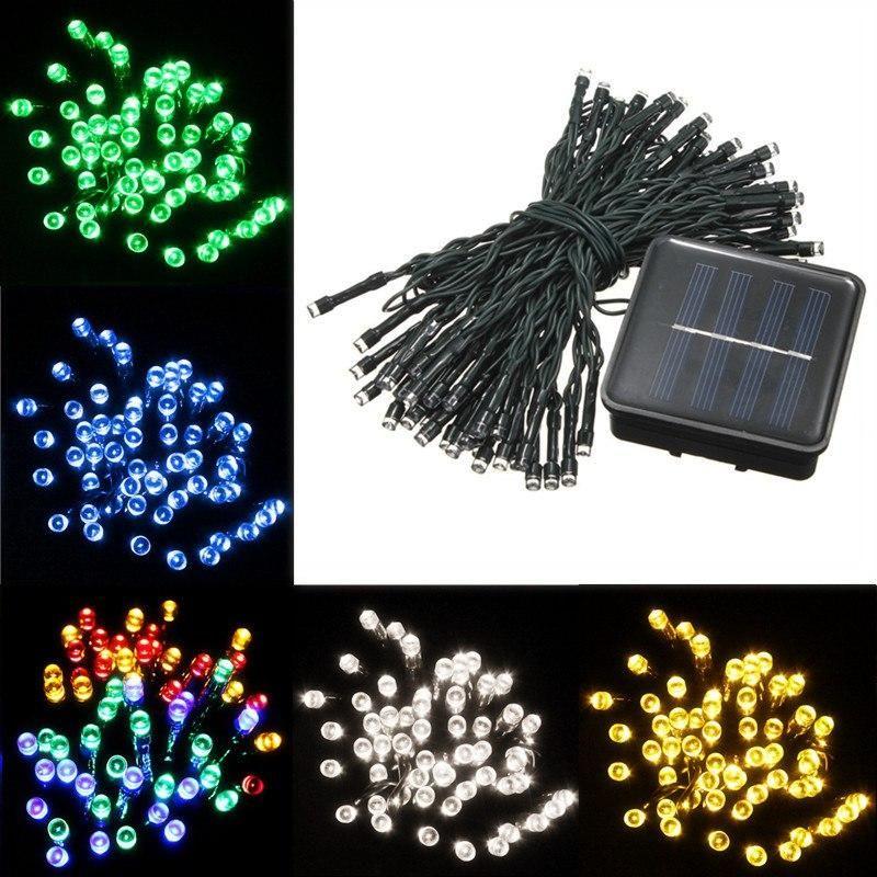 Mising Solar Lighting Strings 8M LED Strings Lamp Christmas Lights