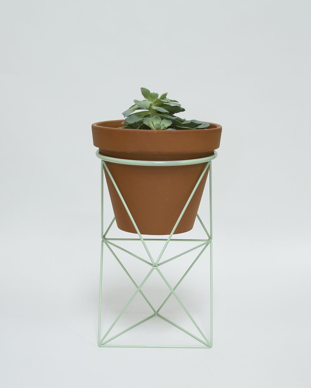 Double octahedron ring planter shops rings and planters