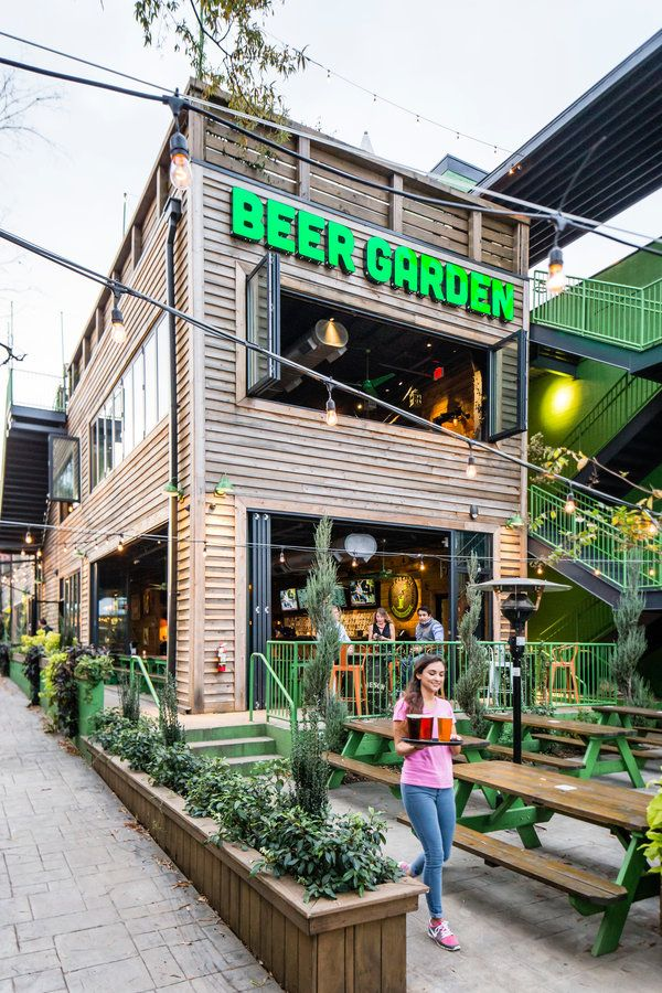 50 Best Places in the South Now Beer garden, Garden bar
