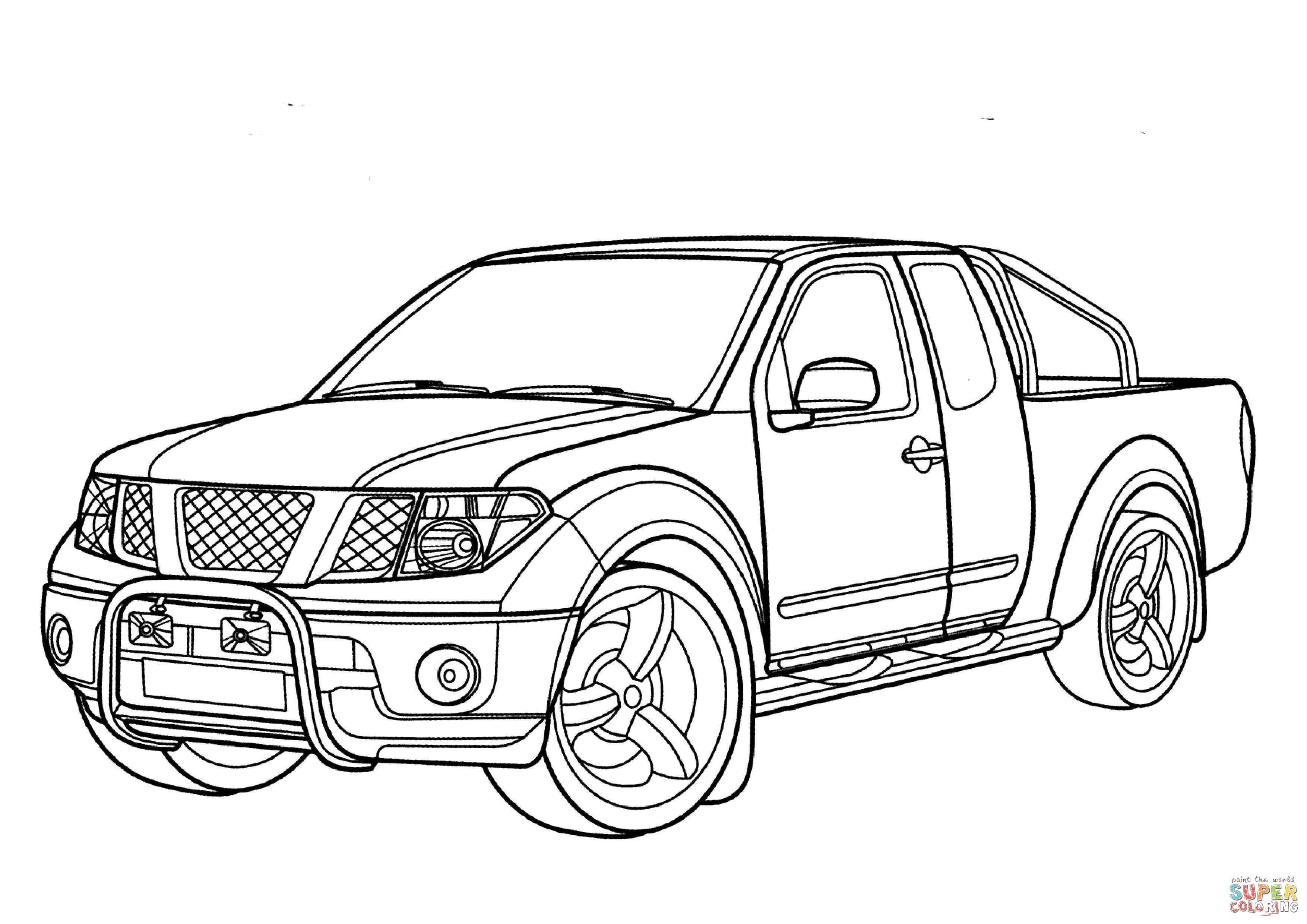 Nissan-Navara-coloring-page.jpg (10×10)  Ausmalbilder