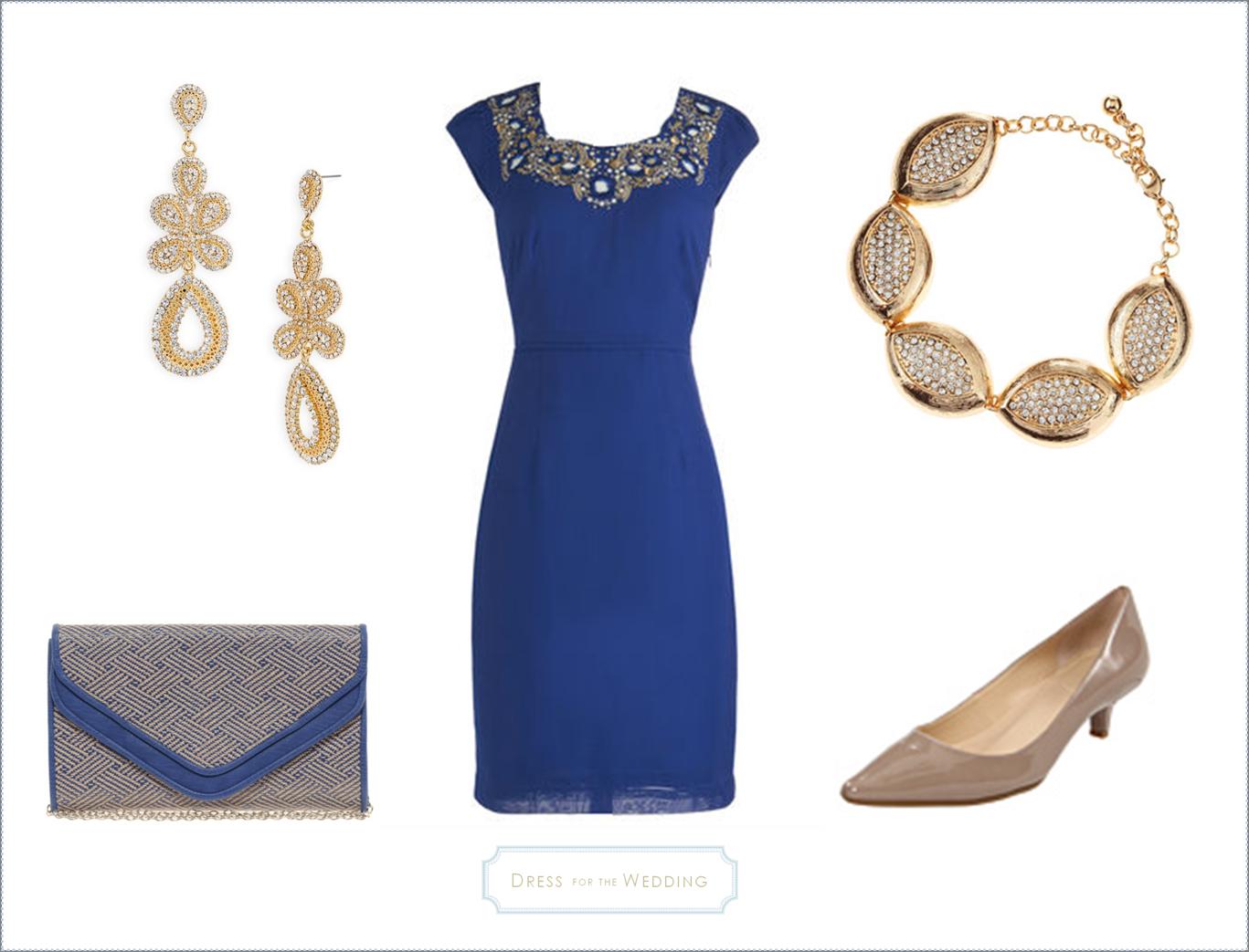 Royal Blue Dress For A Wedding Guest Www Dressforthewedding