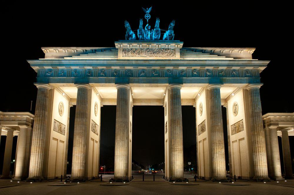 Berlin Brandenburger Tor Deutschland Mauer Stadt Berlin Mauer