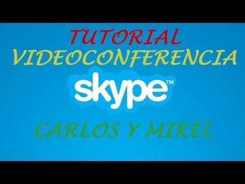 Realizar una videollamada grupal y compartir la pantalla en Skype - YouTube