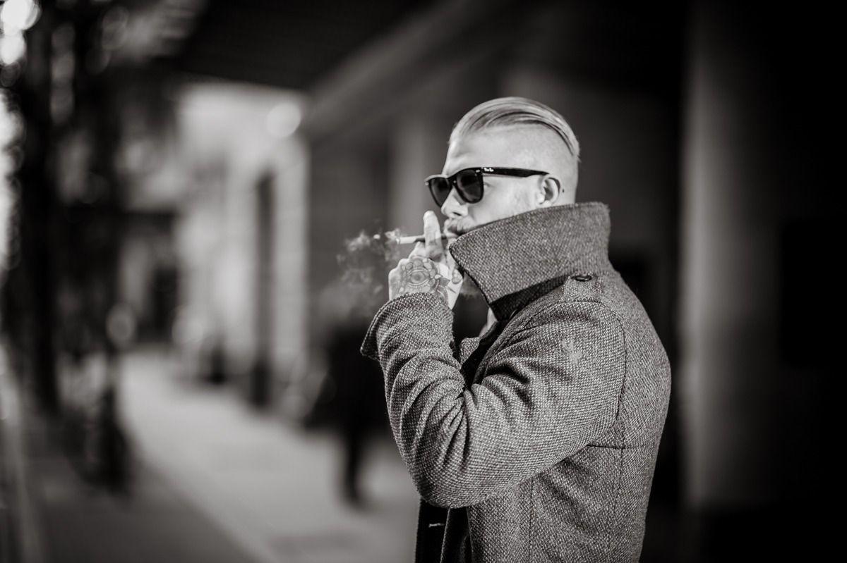 Men's style. Ultimate Cool: Josh Mario John