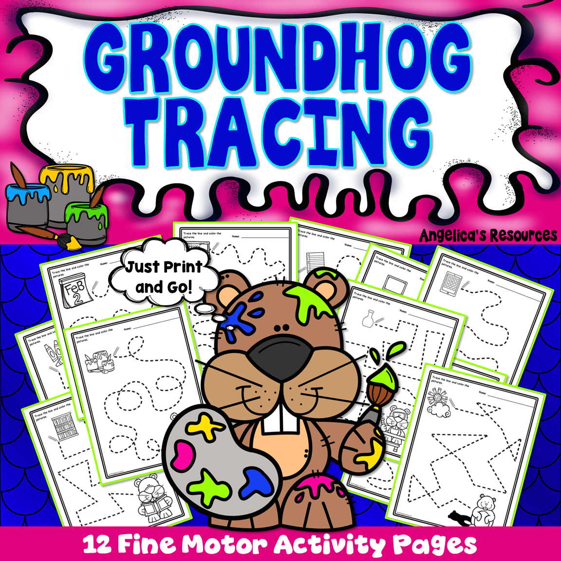 Groundhog Day Activities Fine Motor Skills
