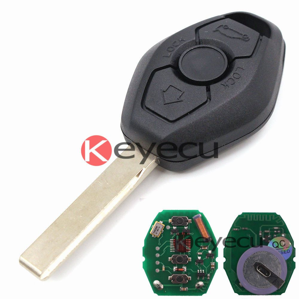 New Rechargeable Battery Ews Remote Key Fob 3 Button 315mhz Id44