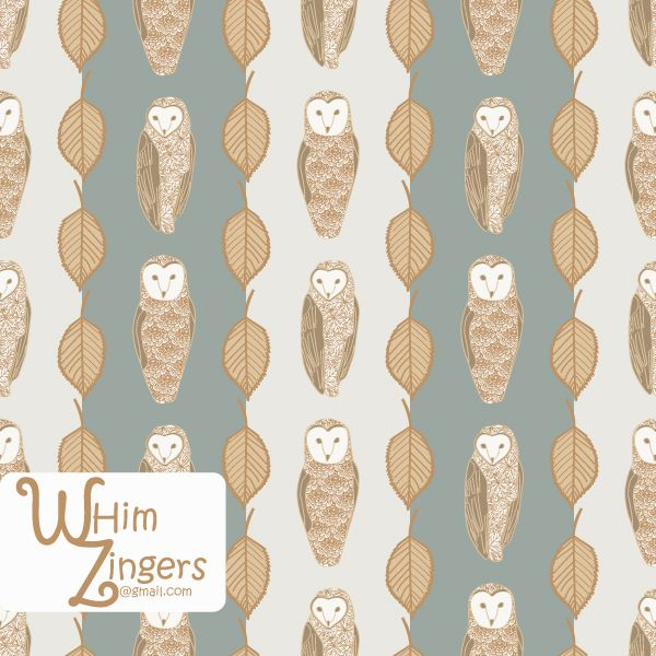 A digital repeat pattern for seamless tiling. #repeatpattern #seamlesspattern #textiledesign #surfacepatterndesign #vectorpatterns #homedecor #apparel #print #interiordesign #decor #repeat #pattern #repeat #seamless #repeating #tile #scrapbooking #wallpaper #fabric #texture #background #whimzingers #birds #owls #animals #brown #floral #flowers #stripes #gray #grey