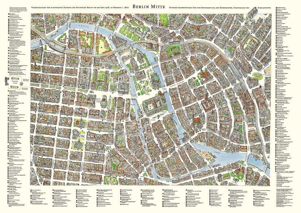 Historische Plane Edition Panorama Berlin Berlin Geschichte Berlin Karte Berlin