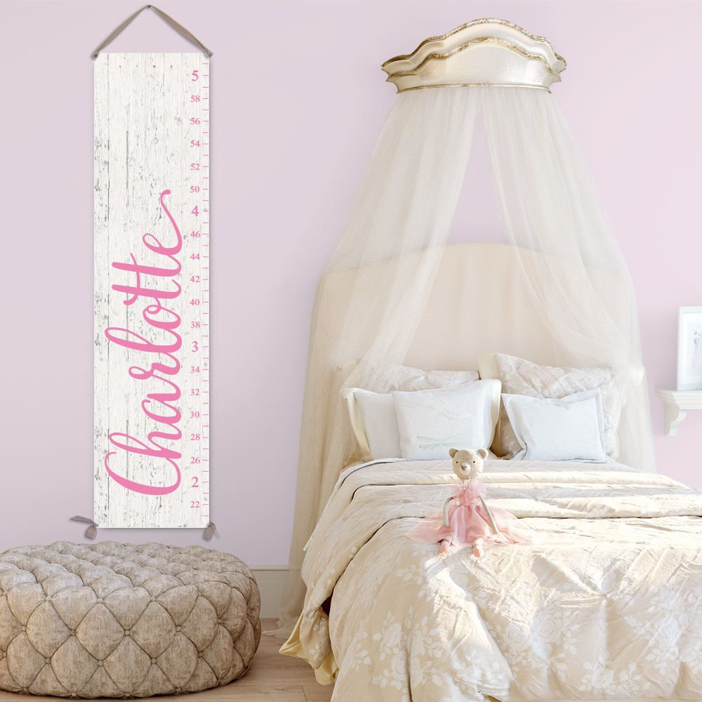 Growth chart ruler for girl personalized canvas growth chart wood growth chart ruler for girl personalized canvas growth chart wood image on canvas nvjuhfo Gallery