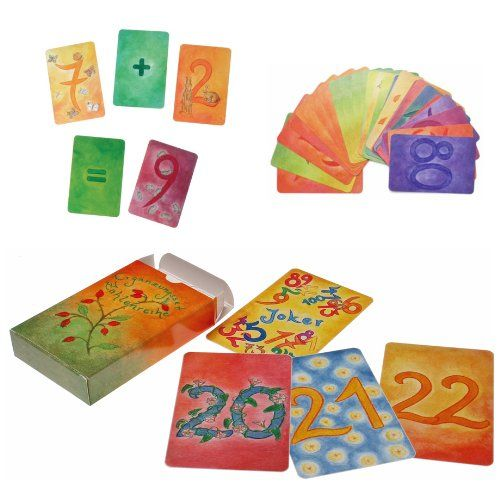 Grimm's Secondary Deck Of Nature-Inspired 123 Number Cards