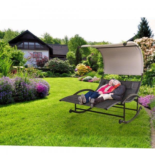 Tuscan Rocking Garden Relaxer Bed   JTF   JTF   Tuscan ...