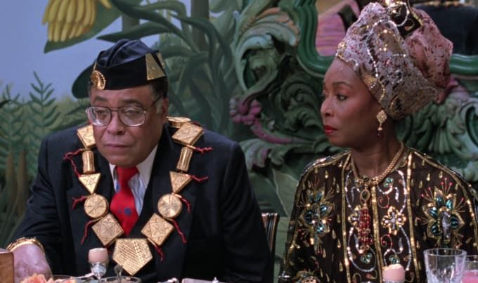 The Best Fits From Coming To America As Described By The Film S Costume Designer Deborah Landis Coming To America Costume Queen Pictures Costumes