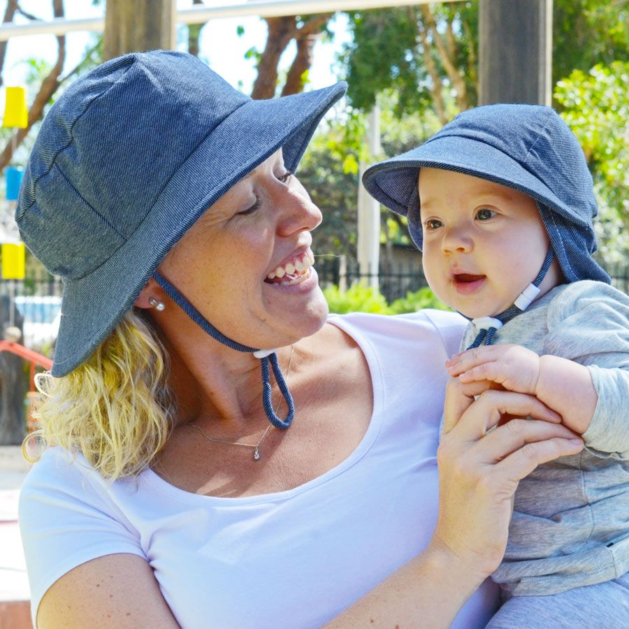 98e73c96ff0f0 Here is our Educator and Legionnaire kids hat in soft denim. Our Preschool  hats come in Legionnaire   Bucket Styles in gorgeous bright colours.